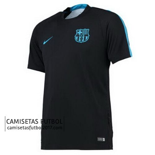 Camiseta de Pre Match Champions League Barcelona 2015 2016 negro | camisetas de futbol baratas