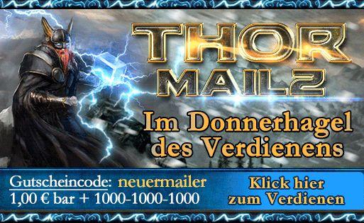 Folge auch Du dem Gott des Donners in die virale Welt von Thormailz…