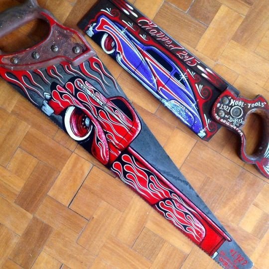 Kustom Kulture I Live For This Shit: 178 Best Hand Painted Saws Images On Pinterest