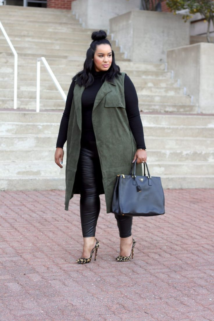 Plus Size Fashion - fall style