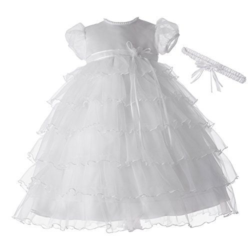 Lauren Madison baby girl Christening Baptism Multi Tiered Gown With Satin Bodice, http://www.amazon.com/dp/B0062H92K4/ref=cm_sw_r_pi_awdm_7kYkub17FBWD1