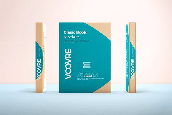 Book Hard Cover Mockup 8 Mockup Design Template Business Card Logo