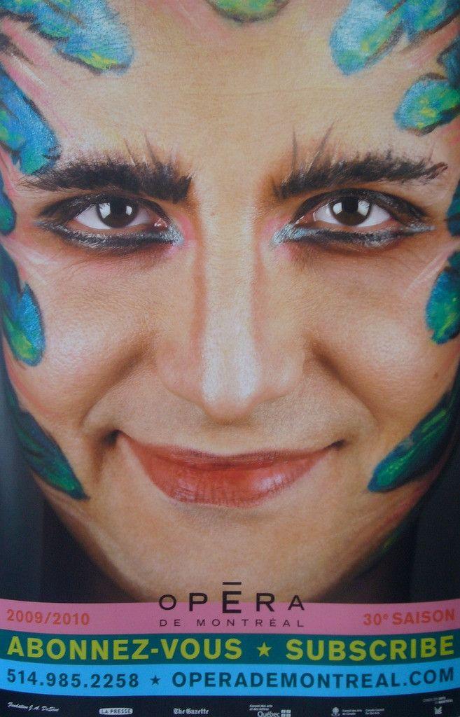 2009 Contemporary Opera De Montreal Poster, La Flute Enchantee - Montplaisir   Pelletier #1980-present #canada #canadian #canadian-poster #contemporary-posters #montreal #montreal-opera #opera #opera-de-montreal #performance #performance-arts #performers #performing-arts #quebec #quebec-poster #salome #salome-affiche-opera-de-montreal #salome-opera-poster #symbolism #theater #theatre