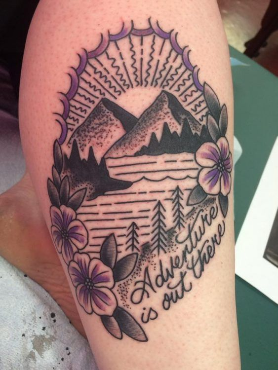 adventure is out there tattoo – Tattoos that I love