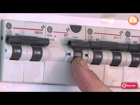 funcionamiento cuadro electrico vivienda - YouTube