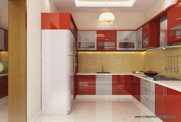 Indian Modular Parallel Kitchen Designs Simple