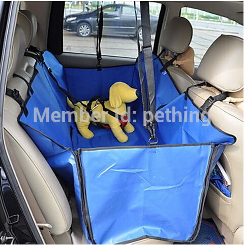 Dog car seat cover car seat for dog Pet Mat Hammock Cushion Protector Drop Travel Portable Foldable Pet Carriers Free Shipping - Pet Supplies store