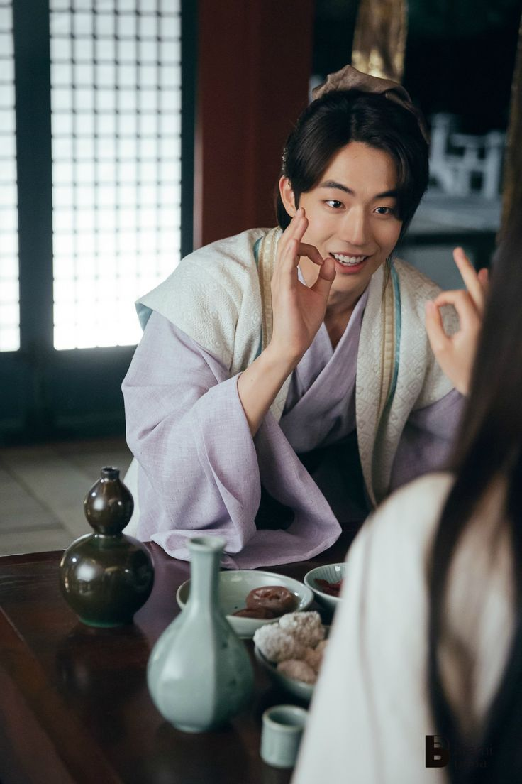 Moon Lovers - Scarlet Heart Ryeo Nam Joo-hyuk as the artistic,sweet hearted, loyal 13th prince this character well. His acting skills are developing good cant wait what other acting skills he'll develop in the future!