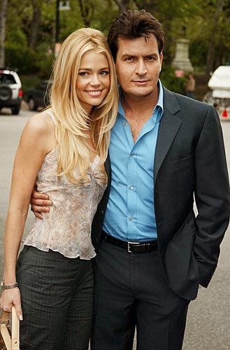 Charlie Sheen & Denise Richards