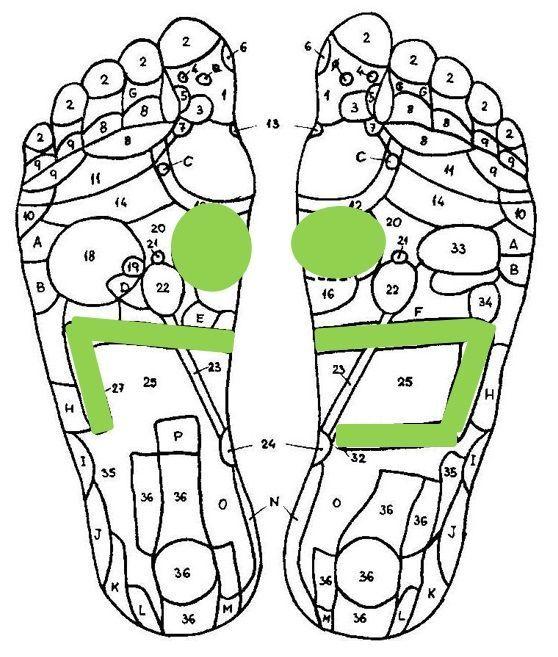 Reflexology for weight loss