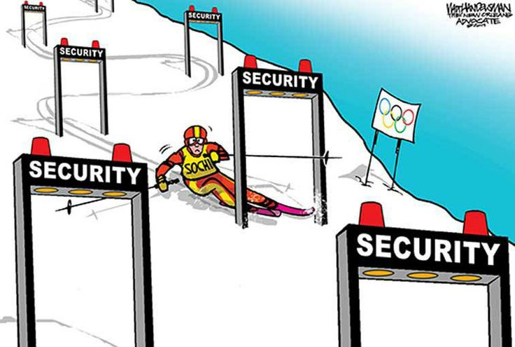 Editorial Cartoons on the 2014 Sochi Olympics - US News