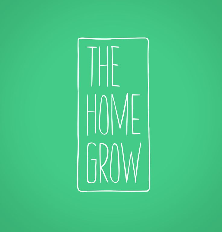 The Home Grow #LogoDesign #GraphicDesign #Branding #Design #Logo #Creative #Art