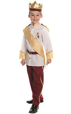 Halloween Costumes Kids: Dress Up America Boy S Royal Prince Charming Child Costume Set Toddler 4 -> BUY IT NOW ONLY: $34.99 on eBay!