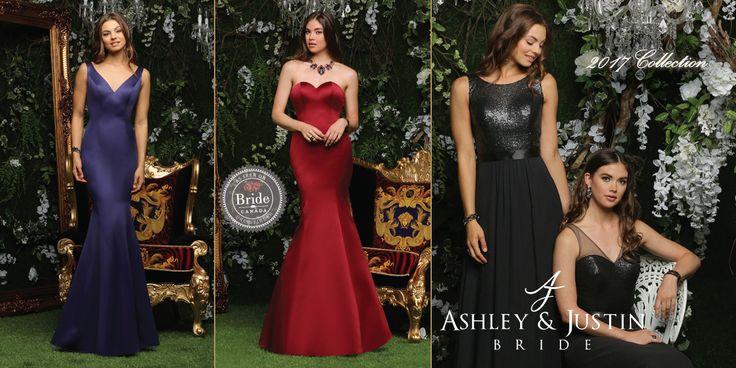 Ashley & Justin Bridesmaids, Fall 2017, as seen on dressfinder.ca