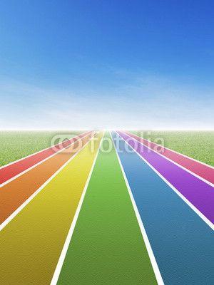 Rainbow track