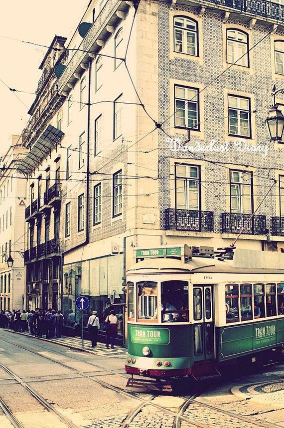 Portugal Travel - Lisbon Streetcar