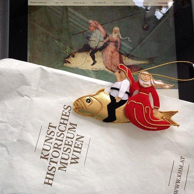 Новогоднее, елочное, Босх для елки из венского музея истории искусств