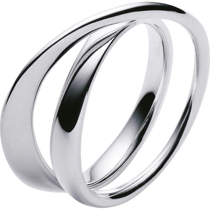 MÖBIUS ring - sterling silver