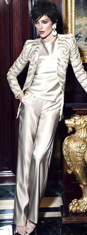 Filthy rich and loving it in Georgio Armani Couture Fashion #Luxurydotcom