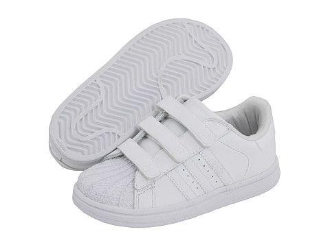 45081d09ab4c adidas Originals Kids Superstar 2 H L (Infant Toddler) White White White -  Zappos.com Free Shipping BOTH Ways  40