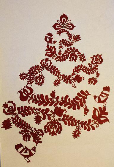 """Miamia Magyar Népmesék Karácsony Mia módra című képe az Indafotón. Kis """"előkarácsony""""    Ma ez ötlött az eszembe :) és késztetést éreztem arra, hogy le is rajzoljam.  Nem igazán a fotózásról szól de szeretném megosztani Veletek! Közelgő karácsony alkalmából is.  Még nem találkoztam hasonló ötlettel... Remélem nincs... :) :)"""