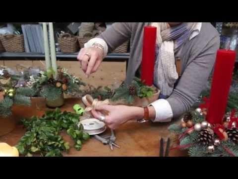 Lav en juledekoration med Elisabeth Bønløkke - YouTube