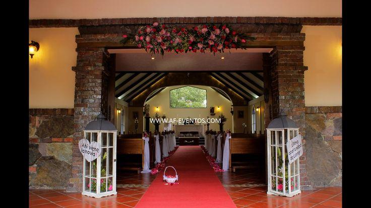 decoración de capillas para bodas con @afeventos