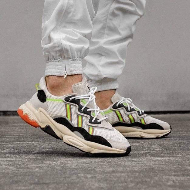 Adidas Ozweego *Era Pack* (Ftwr White Solar Green Ftwr