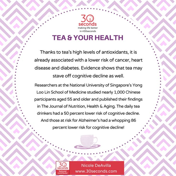 Can Tea Help Prevent Alzheimers Disease Cognitive Decline