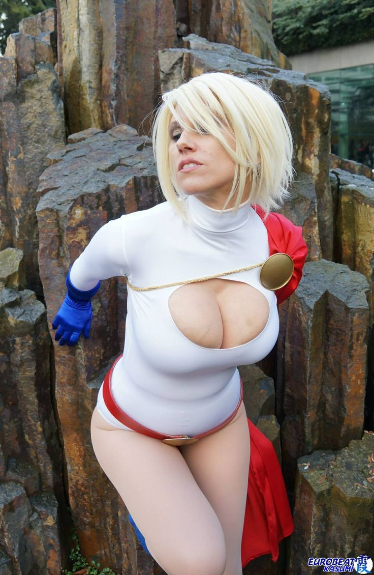 Pictures big cosplay power girl porn little girls