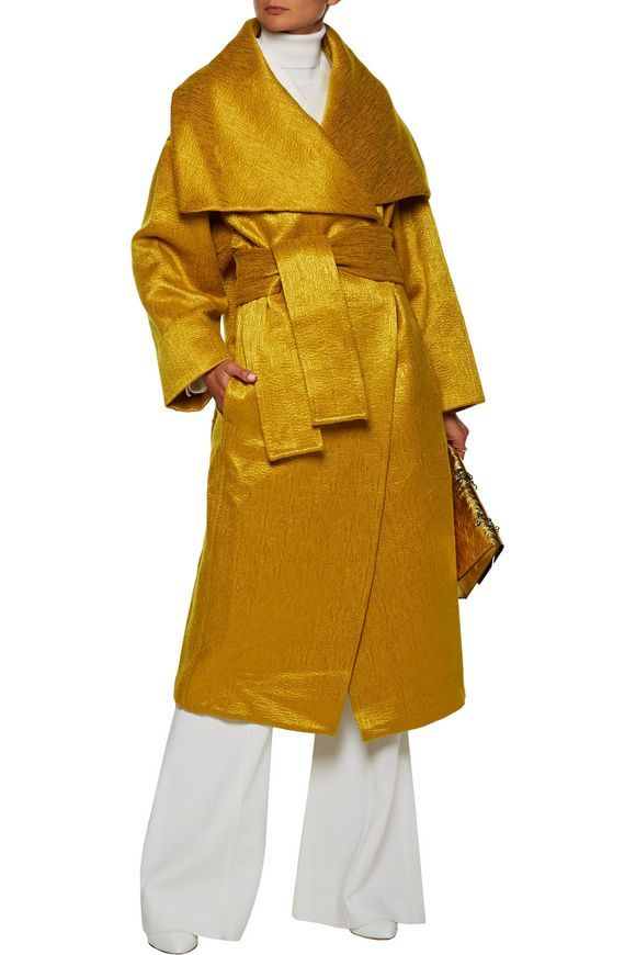 Iridescent wool-blend coat | MAISON MARGIELA | Sale up to 70% off | THE OUTNET