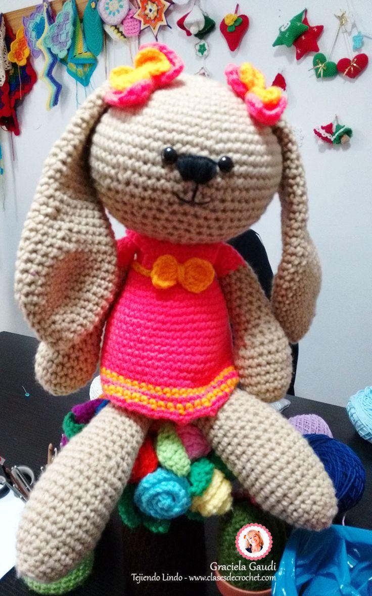 #DIY #Crochet #Amigurumi Coneja