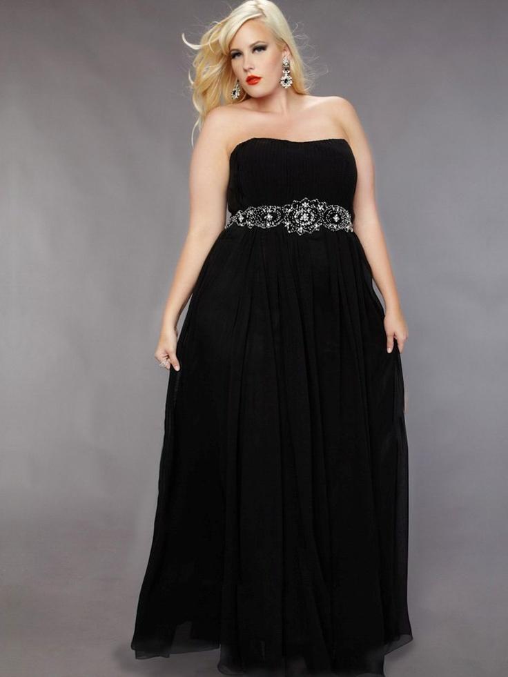 24 Best Black Dress Images On Pinterest Plus Size Clothing Curvy