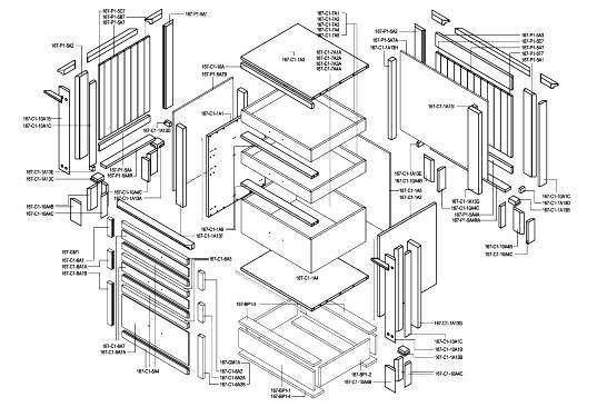 Cad Kitchen Cabinet Details Shop Drawings Autocad Pinterest Shops Cabinets And Kitchen
