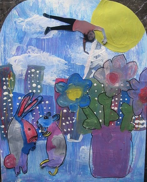 MaryMaking: Finished Chagall Inspirations.  (going back 2 blog entries will give you the 1st post on this project)