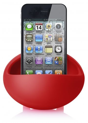 COMING IN MARCH 2013: The Magic Bean is a silicon phone stand and amplifier in one. It fits all cellphones with the speaker on the bottom, and is available in 6 trendy colours. www.pslworld.com