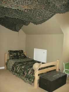 military themed boys room - Google Search