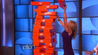 She'd come up with new games for you to play together. | Community Post: 17 Reasons Ellen DeGeneres Would Be The Best Friend Ever