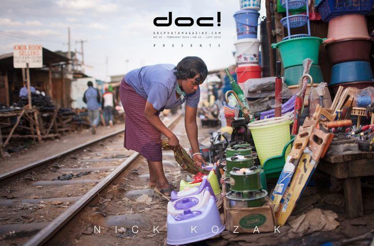 doc! photo magazine presents: Nick Kozak - KIBERA JAMII @ doc! #20, pp. 199-227