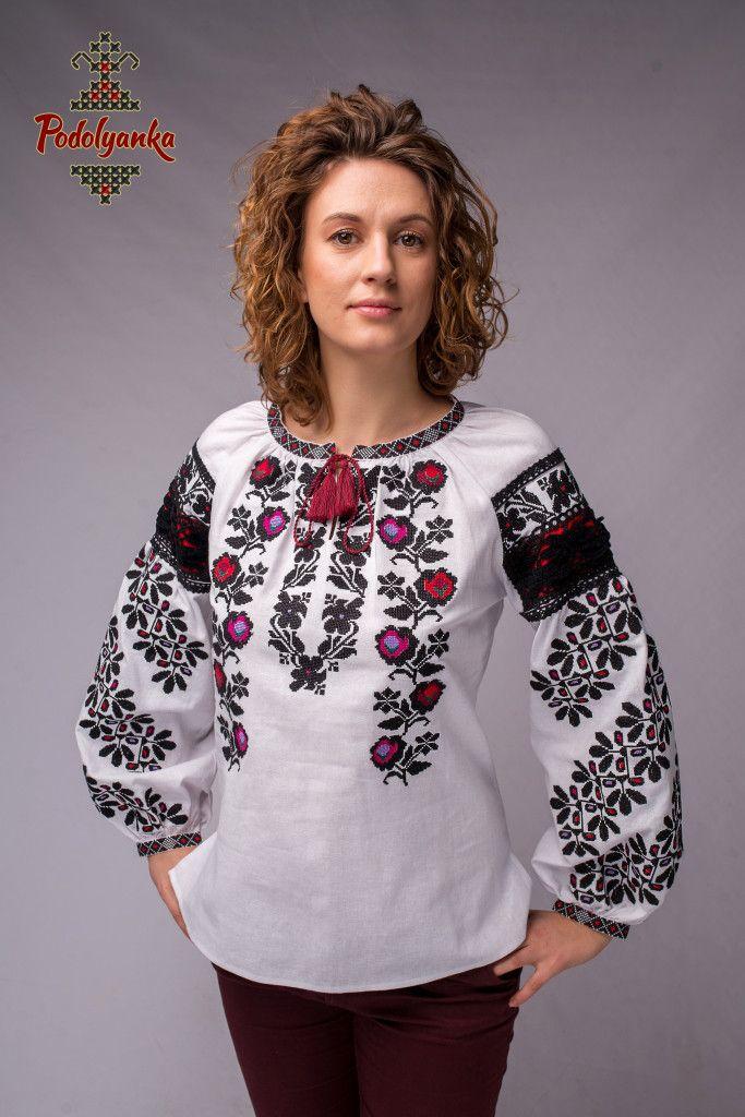 Жіноча вишиванка Борщівська старовинна - Podolyanka в Львове ac3529b0e8fa7