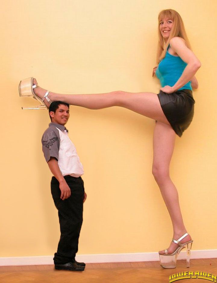 tall dude with short babe