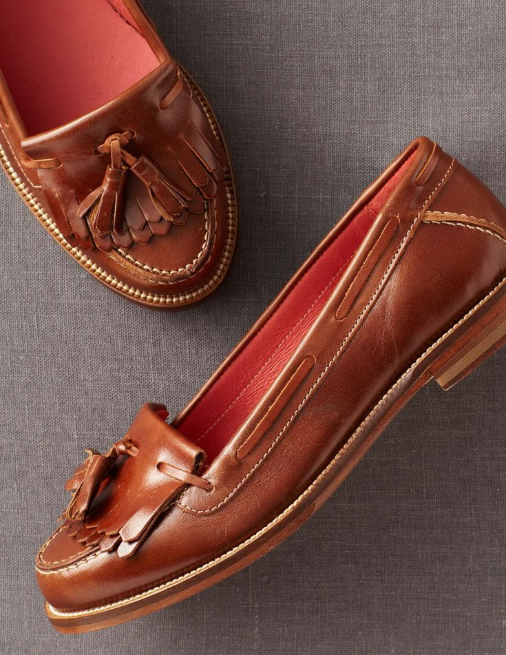 Why is it that women's loafers are so darn cute? Leather Loafers