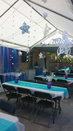 Frozen theme Birthday party