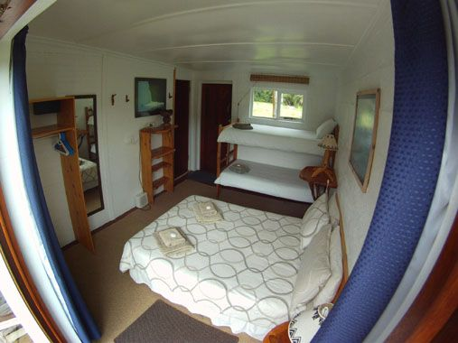 Beyond the Moon, Hoekwil, Wilderness, Western Cape, South Africa offers one star self-catering guest farm accommodation