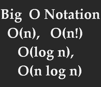 What, Why and How of Big O Notation - Instantkick