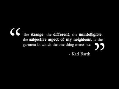 eschatological moment -- Karl Barth