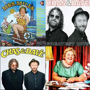 On Saturday 20th April, the ultimate cockney knees is coming to Concorde2 with the reunion tour of Chas & Dave. They'll also be joined by special guests the Mrs Mills Experience. This is a show not to be missed! Get your tickets now from the C2 website for £22.50 + bf in adv: https://www.concorde2.co.uk/bookTickets.php?pageName=Chas+and+Dave+St+Georges+Day+Special=2013-04-20https://www.concorde2.co.uk/bookTickets.php?pageName=Chas+and+Dave+St+Georges+Day+Special=2013-04-20