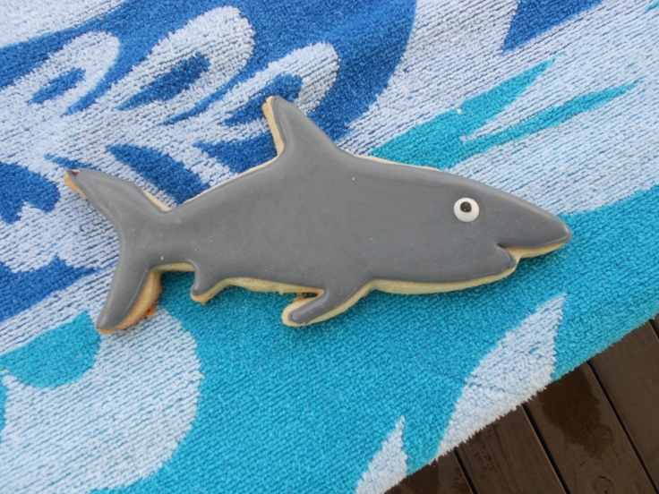 Shark Cookies!........I wish it was shark week every week!!!