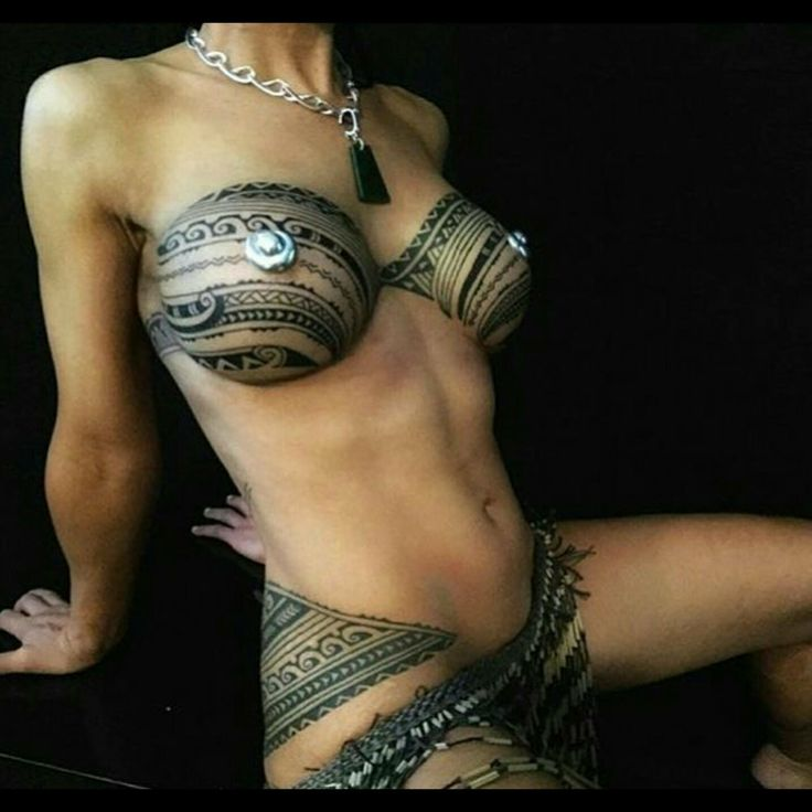Tribal never looked so good  http://www.inkedmag.com/girls Tattoo by @shanetattooer