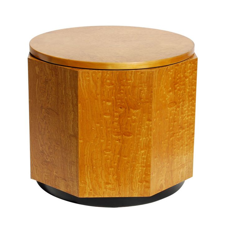 1stdibs   Alvar Aalto Finnish Birch Burl Hexagon Table